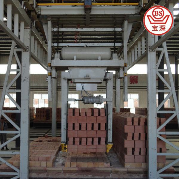 BaoShen tunnel gas brick oven for the full automatic clay brick plant