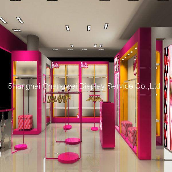 Cute children clothes shop decoration clothing shop furniture. Cute Children Clothes Shop Decoration Clothing Shop Furniture
