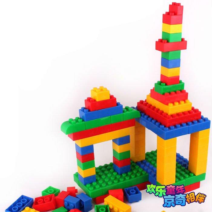 Plastic Large Construction Bricks Building Blocks Toys