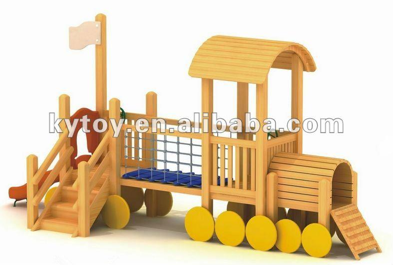nuevo diseo de madera tren parque infantil juegos infantiles de madera tobogn