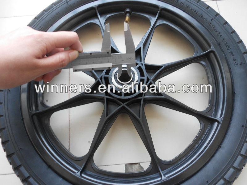 Pneumatic Plastic Utility Cart Wheel 16x 2 125 Buy Plastic Model