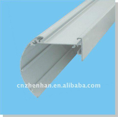0 8mm Thickness Aluminum Bottom Rail For Zebra Blind Or