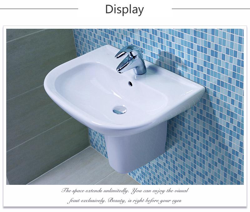 Vh Jy-sw-01 Cheap Decorative Bathroom Light Blue Ceramic Floor ...