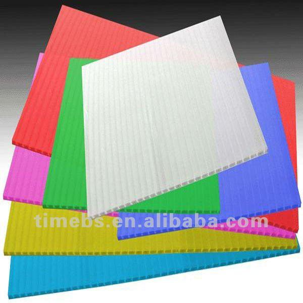 Imprimible transl cido pl stico corrugado buy product on for Mejor pegamento para plastico