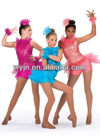New Cheer Kid Jazz Dance Tutu Skirt New Cheer Jazzwoman
