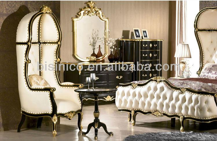 European Bedroom Furniture,Luxury Classical Bedroom Set,Wooden Bed ...