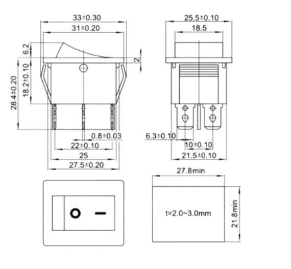 4 pin rocker switch wiring diagram 125v outdoor flood light wiring diagram wiring diagram