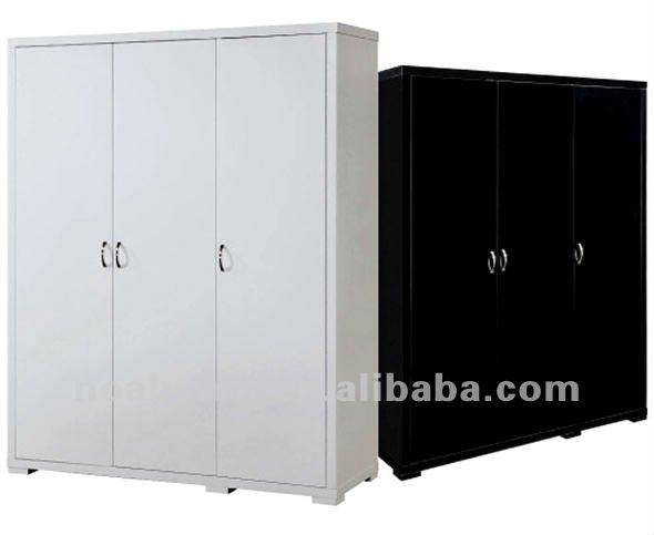 Black And White Wardrobe Closet Bedroom Furniture Home Furniture