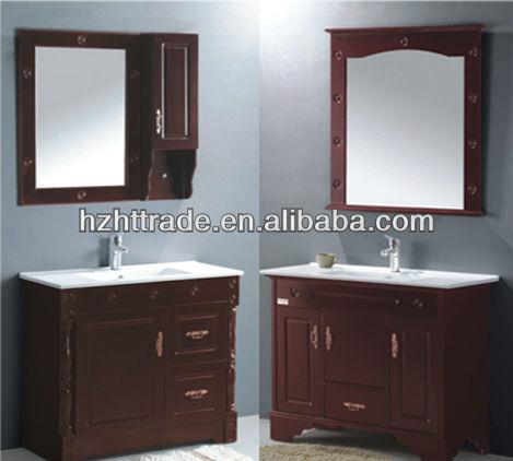 mirror cabinet 1 door 2 drawers floor standing tall bathroom vanity cabinet