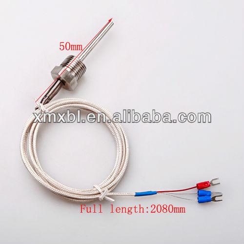 Rtd Pt100 Sonde Sensor 1 Npt/2\'\' Thread Mit Blei Draht - Buy Rtd ...
