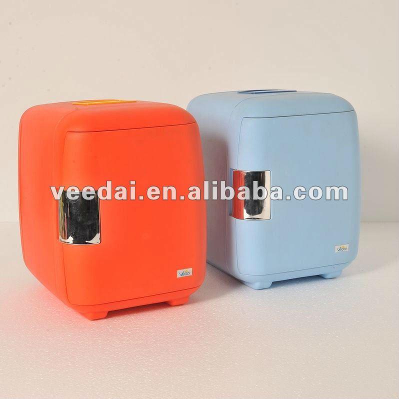 6L Mini Refrigerator Table Top Fridge/ Mini Wine Chiller /micro Cool Mini  Fridge