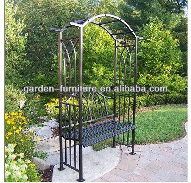 Smeedijzeren boog metalen tuin prieel trellis boog structuren stalen frame in de tuin buy - Prieel frame van ...