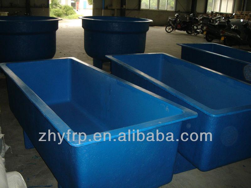 Frp Fish Tank For Indoor Fish Farm Fiberglass Fish Tanks