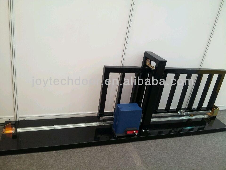 New battery operated dc sliding gate opener dkc solar