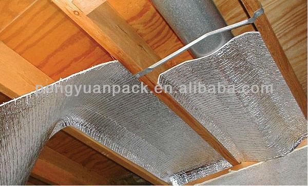 Green Foam Insulation Roof Insulation Board Silver