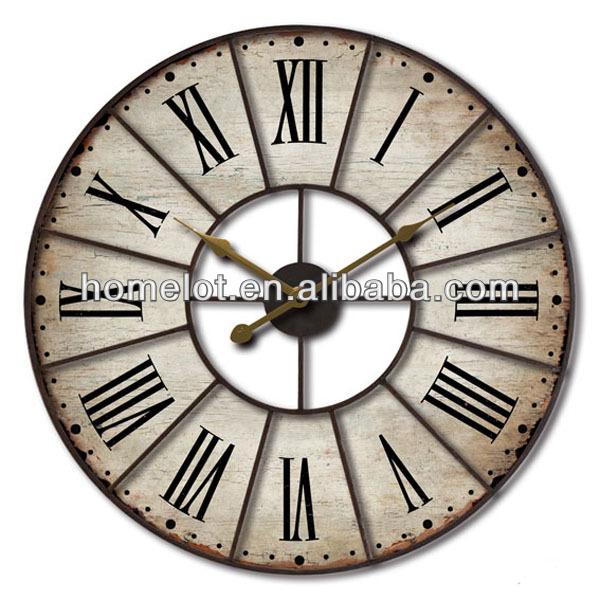 Horloge Murale Chiffre Romain
