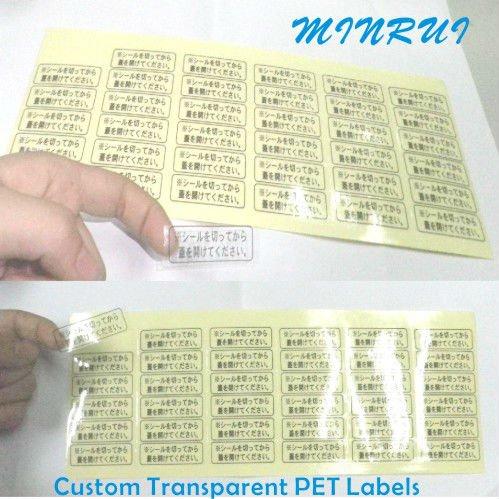 Clear Vinyl StickersCustom Window DecalsTransparent Stickers - Custom vinyl stickers transparent
