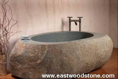 Bagno In Pietra Bianca : Granito grigio pietra bianca basalto vasca da bagno scarpa vasche da