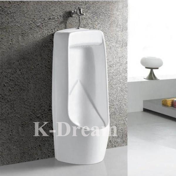 WC Sanitary Wares Urine Bowl Ceramic Waterless Floor Mounted Urinal