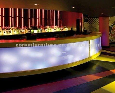 Translucent acrylic solid surface hi macsavonite built led translucent acrylic solid surface hi macsavonite built led lighted bar counter mozeypictures Images