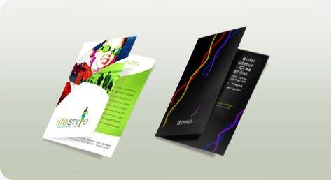 China Brochure Printing Company One Fold Brochure Printing - Buy ...