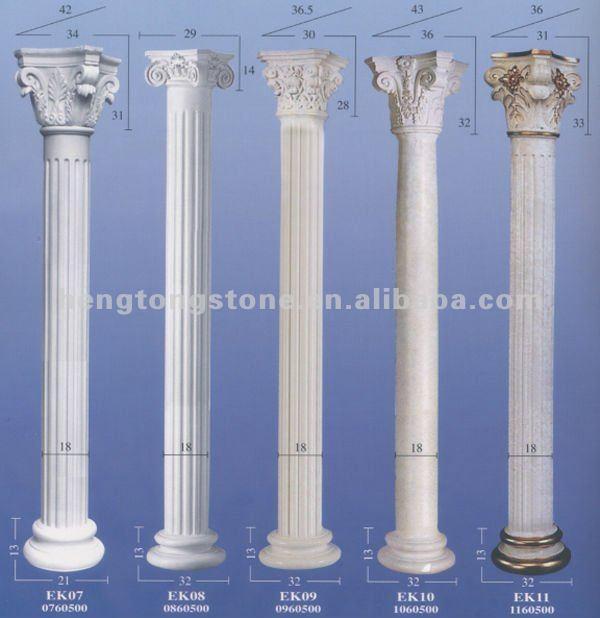 Hand Carved Marble Roman Round Pillar Buy Roman Round