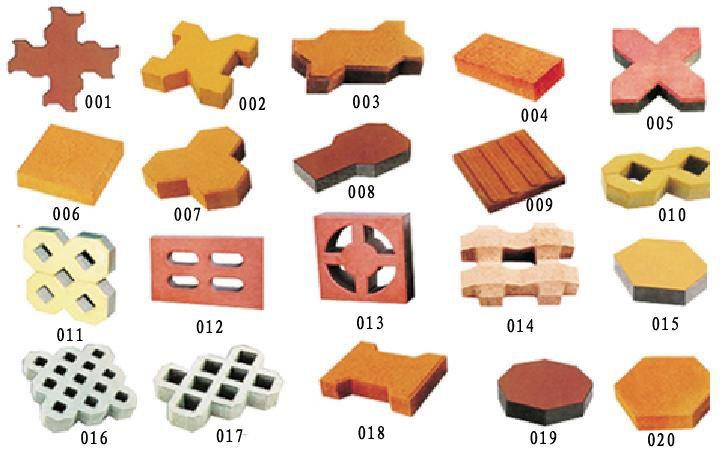 Interlocking Brick Making Machine Pavement Brick Machine