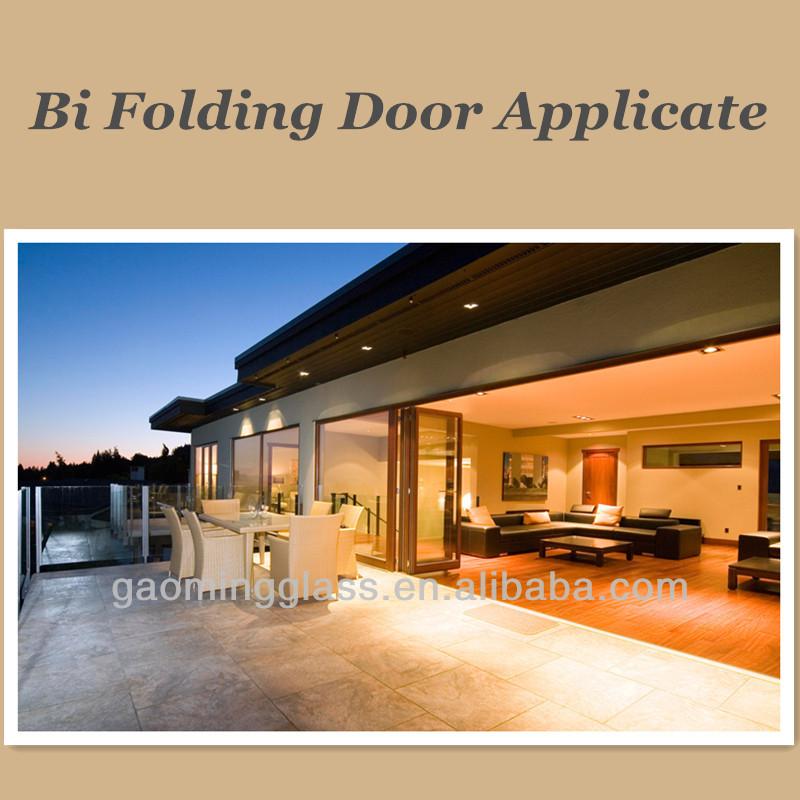 Bi Fold Screen Door For Seaside Villa Sunrooms