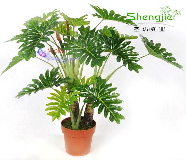 Artificial Big Leaf Tropical Plant Buy Make Artificial