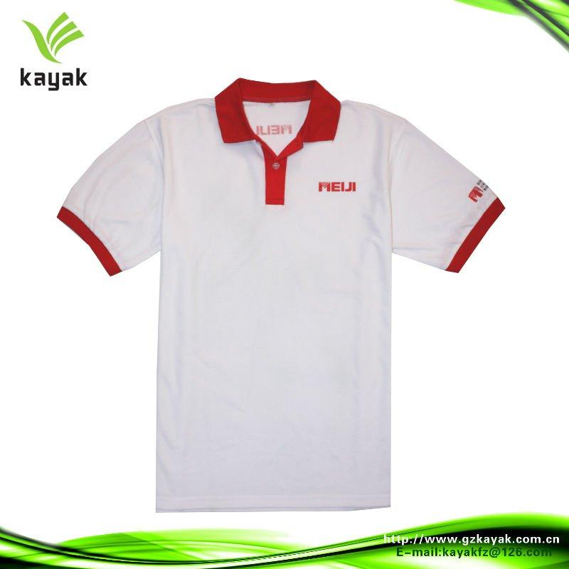 af33854833 Camiseta Polo Vermelha E Branca Com Fenda Na Parte Inferior - Buy ...