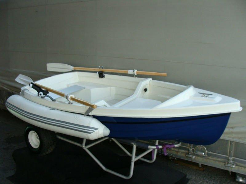 Portable Aluminum Boats : Small dinghy fiberglass fishing boat m buy portable