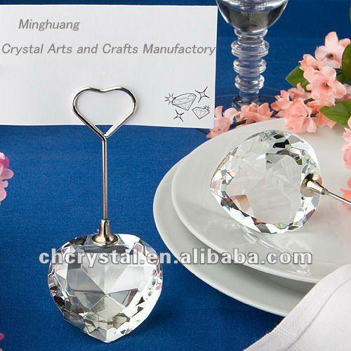 Crystal Balloon Weight Wedding Favors Whole Card Holdermh