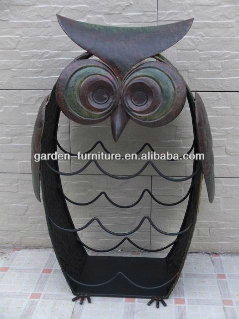 figurines d 39 animaux en m tal forg fer hibou jardin d coratif articles en gros buy product on. Black Bedroom Furniture Sets. Home Design Ideas
