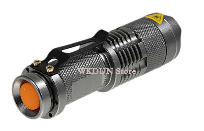 Sk68 Flashlight Adjustable Focus Zoom Ultrafire Cree Q5 Led 300lm ...