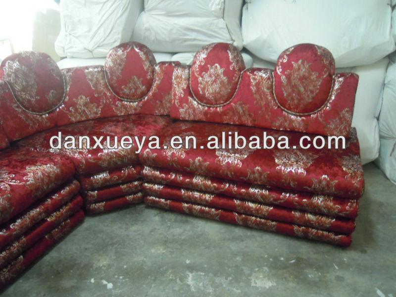 Arabic Style Fabric Sofa Seating Living Room Corner 3101