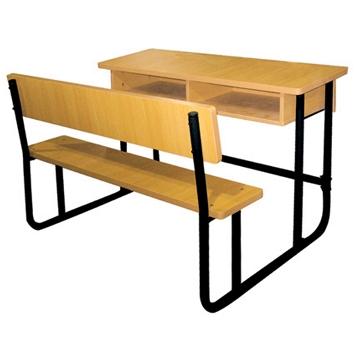 Modern School Double Desk And Bench/school Furniture - Buy Modern ...