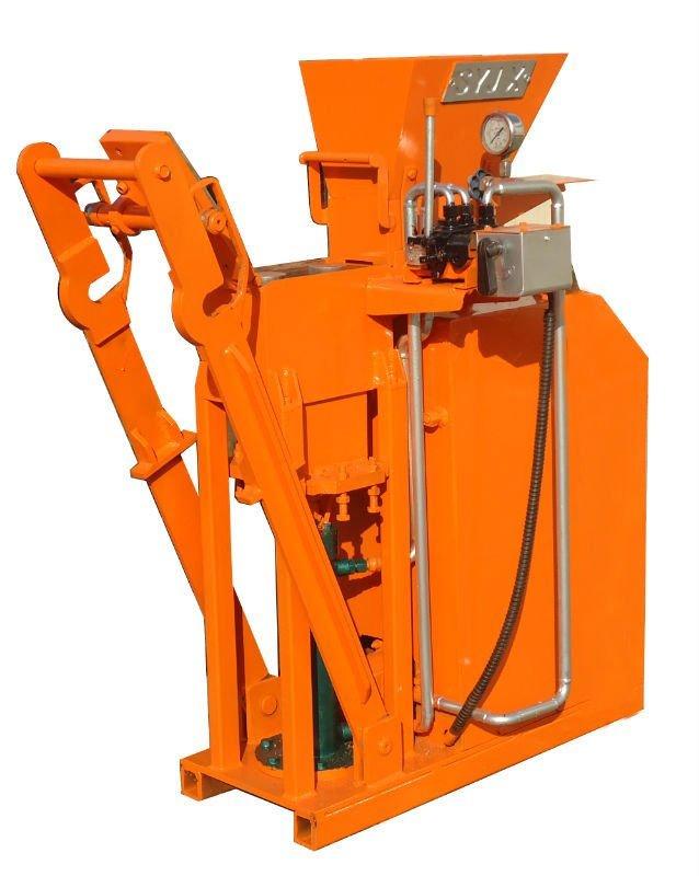 interlocking brick machine price in india
