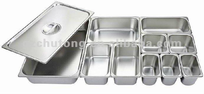 Gn Pan Steel Food Service Pan Chafing Dish Pan Stainless