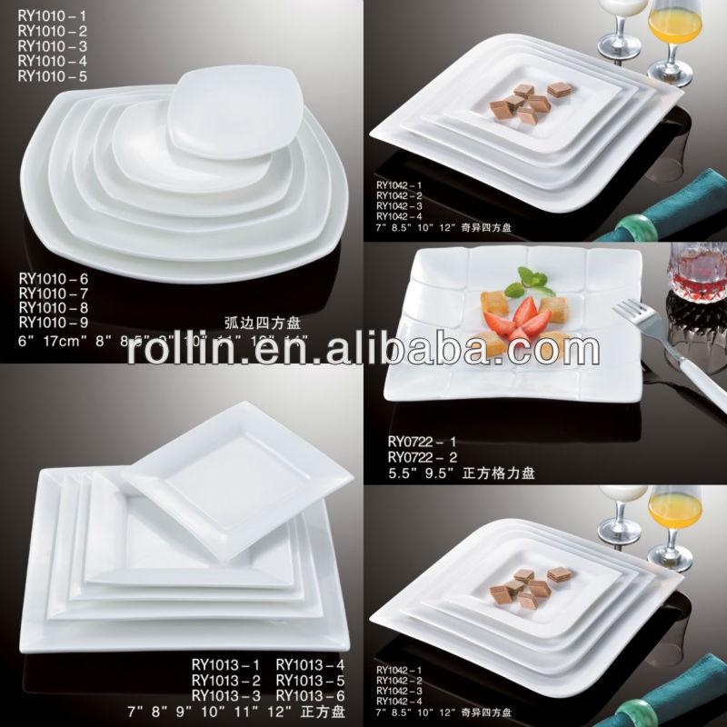 2016 fine hotelu0026restaurant super white porcelain plate Wedding plates catering dinnerware plates wholesale & 2016 Fine Hotelu0026restaurant Super White Porcelain PlateWedding ...