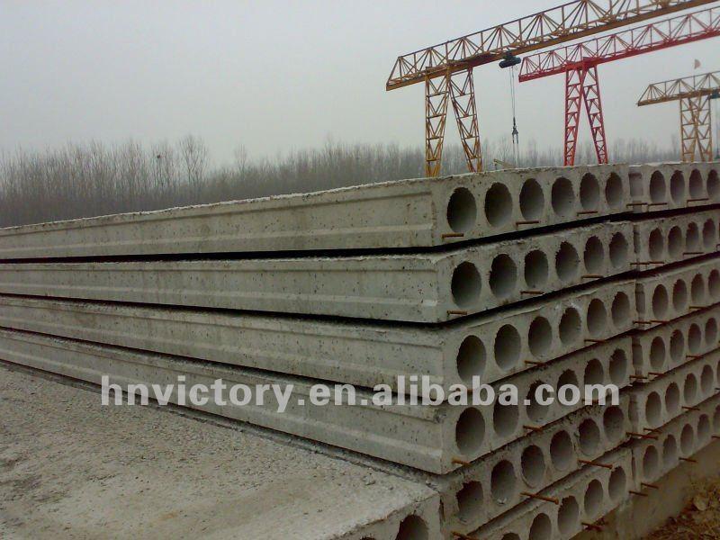 Hollow Core Precast Concrete : Automatic precast concrete hollow core slab forming