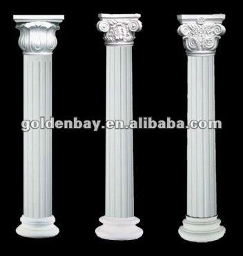 Interior Decorative Pillars And Columns. Decorative Natural Stone