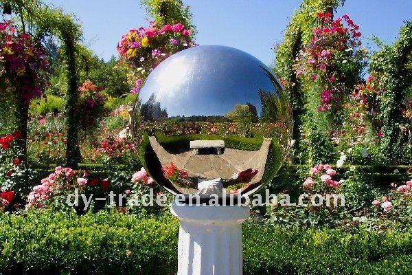 Superb Garden Gazing Ball For Water Feature