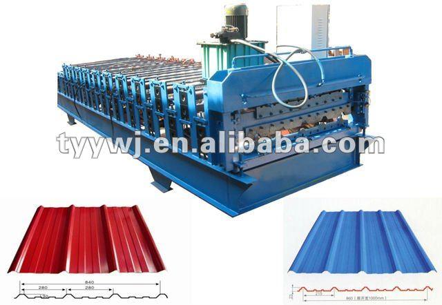 change roller machine