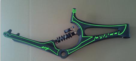 draco bike downhill full suspension 26 for sale carbon mountain bike frame - Mountain Bike Frames For Sale