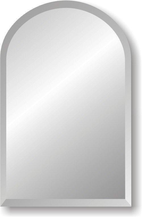 Shaped Bathroom Mirror 8x10 Beveled
