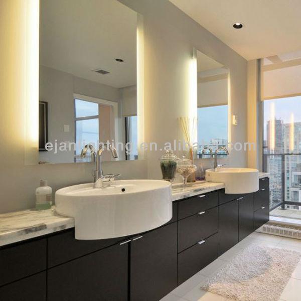 ul etl ce led backlit bathroom mirror for luxury hotel