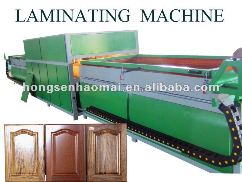 Door Vacuum Membrane Press Machine For Furniture Manufacturing Machine