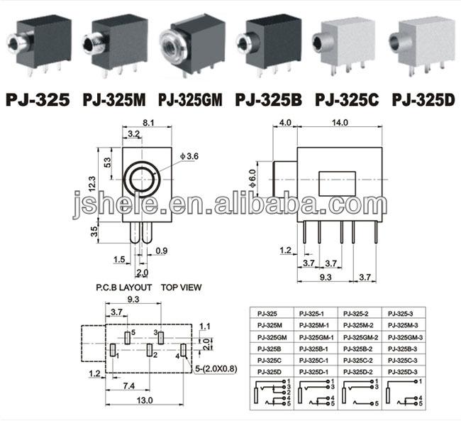 3 5mm mini stereo chassis panel mount headphone input socket connector buy 3 5mm earphone