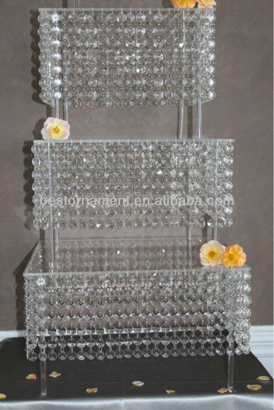 5 Tier Bling Crystal Wedding Cake Stand Buy Wedding Cake