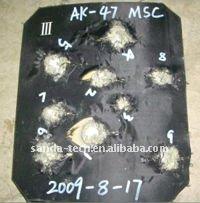 ballistic plate/ bulletproof plate / NIJ 0101.04 Level IIII bullet proof plate & Ballistic Plate/ Bulletproof Plate / Nij 0101.04 Level Iiii Bullet ...